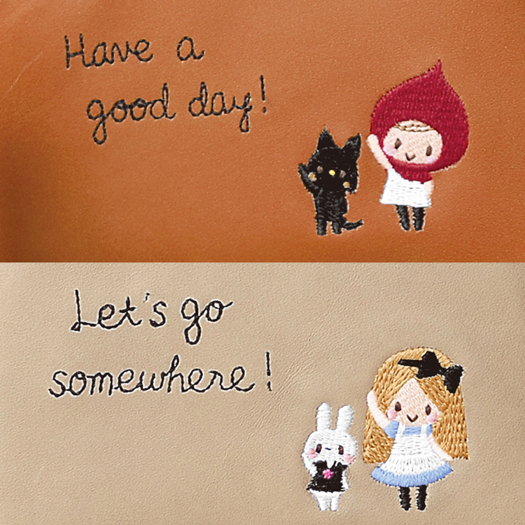 Have a good day! Let's go somewhere!